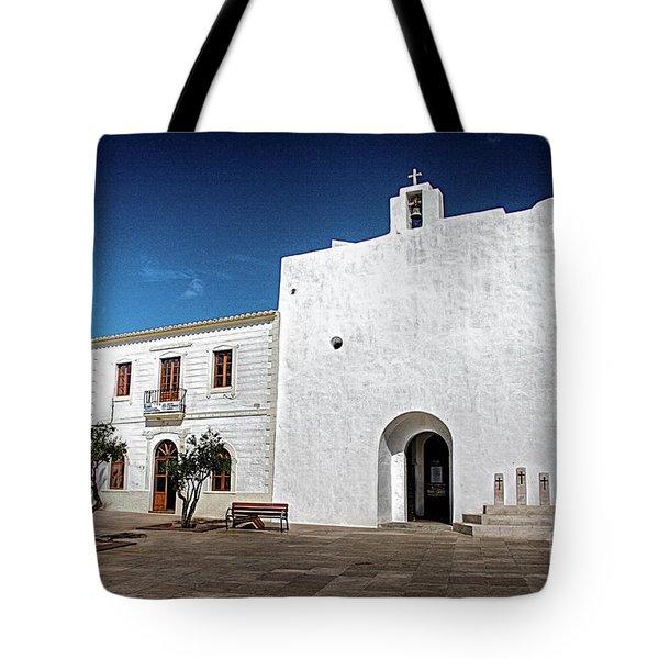 Church, San Francisco, Formentera Tote Bag