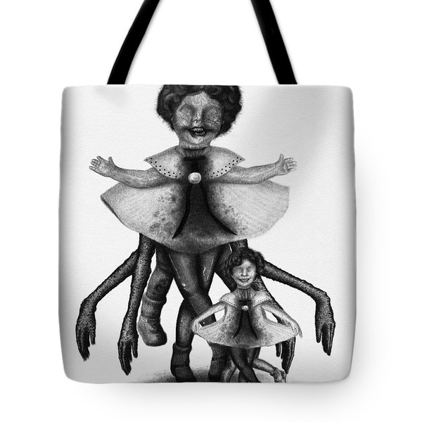 Cindy And Her Monstrous Doll - Artwork Tote Bag