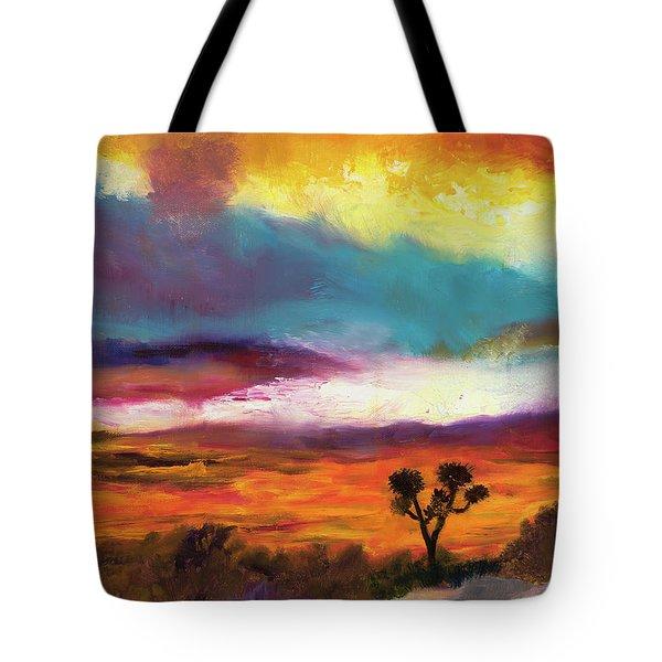 Cindy Beuoy - Arizona Sunset Tote Bag