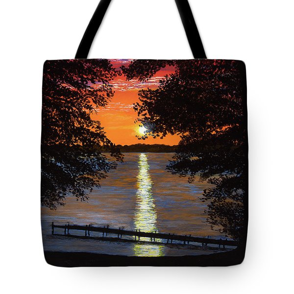 Cindy Beuoy - Lake Maxinkuckee Tote Bag