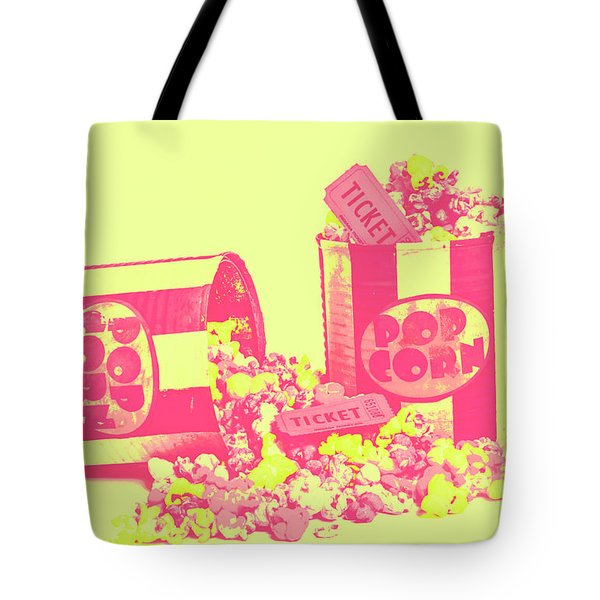 Cine Design Tote Bag