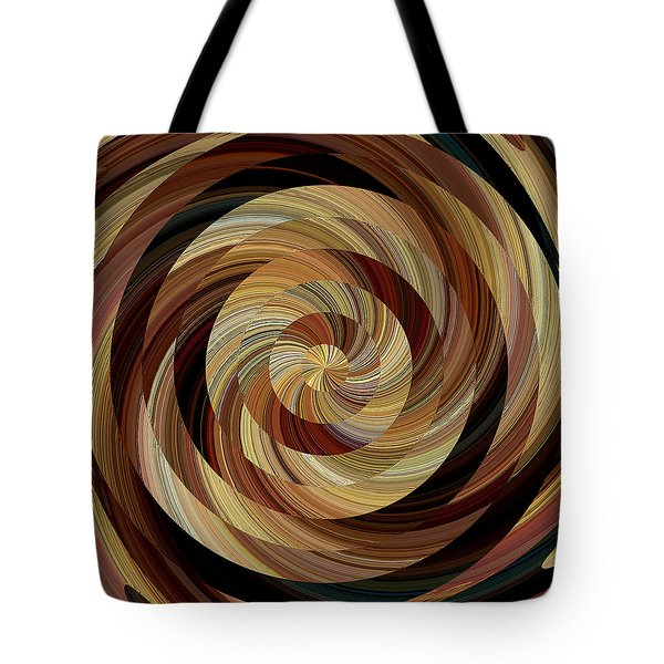 Tote Bag featuring the digital art Cinnamon Roll by David Manlove