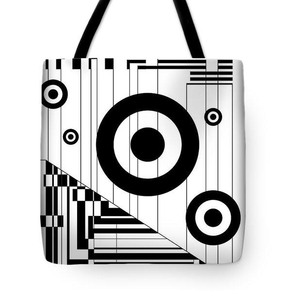 Circular Circles  Tote Bag