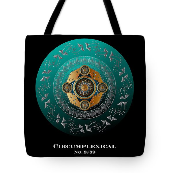 Circumplexical No 3739.1 Tote Bag