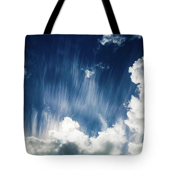 Cirrus Fibratus Tote Bag