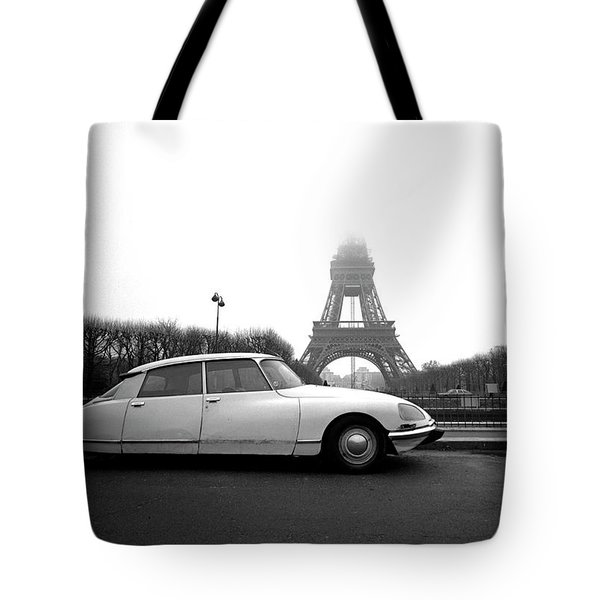 Tote Bag featuring the photograph Citroen by Jim Mathis
