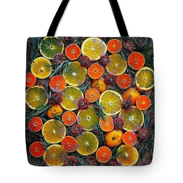 Citrus Time Tote Bag