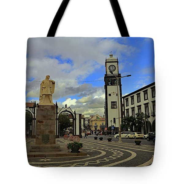 Tote Bag featuring the photograph City Gate  by Tony Murtagh