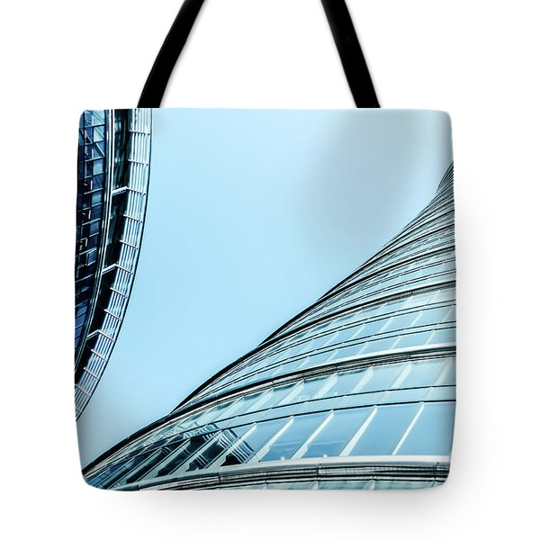 Tote Bag featuring the photograph City Life V by Anne Leven