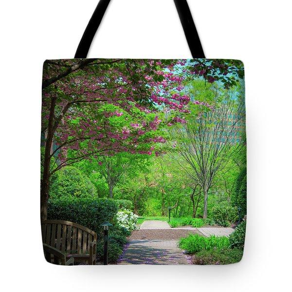 City Oasis Tote Bag