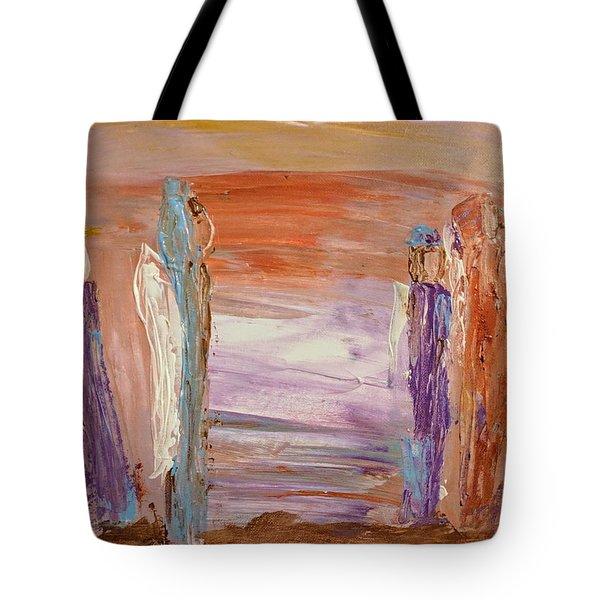 City Of Angels Tote Bag