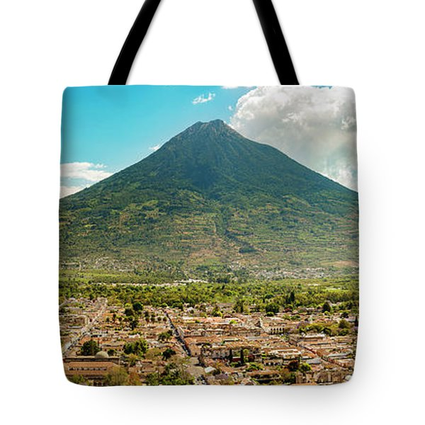 Tote Bag featuring the photograph City Of Antigua Guatemala by Tim Hester