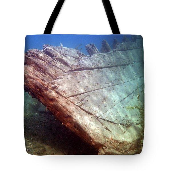 City Of Grand Rapids Shipwreck Ontario Canada 8081801c Tote Bag
