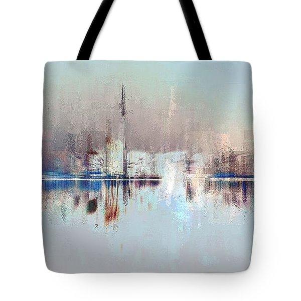 City Of Pastels Tote Bag