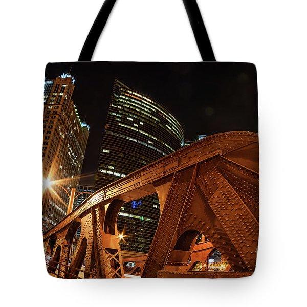 City Of The Big Shoulders Tote Bag