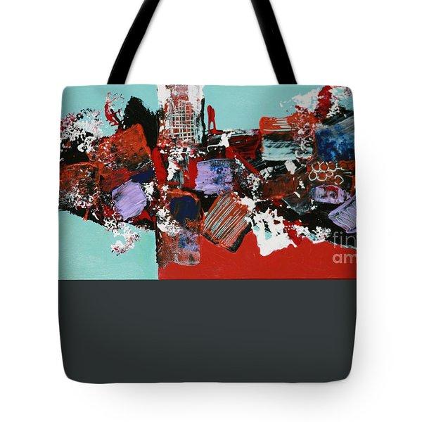 City Series #3 Tote Bag