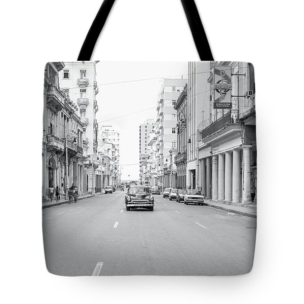 City Street, Havana Tote Bag