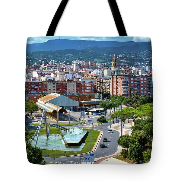 Tote Bag featuring the photograph Cityscape In Reus, Spain by Eduardo Jose Accorinti