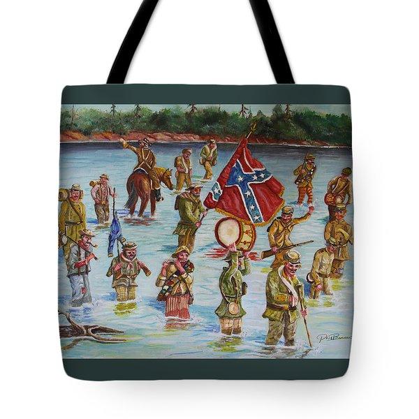 Civil War Battle, Spanish Fort, Mobile Bay, Mobile, Alabama Tote Bag
