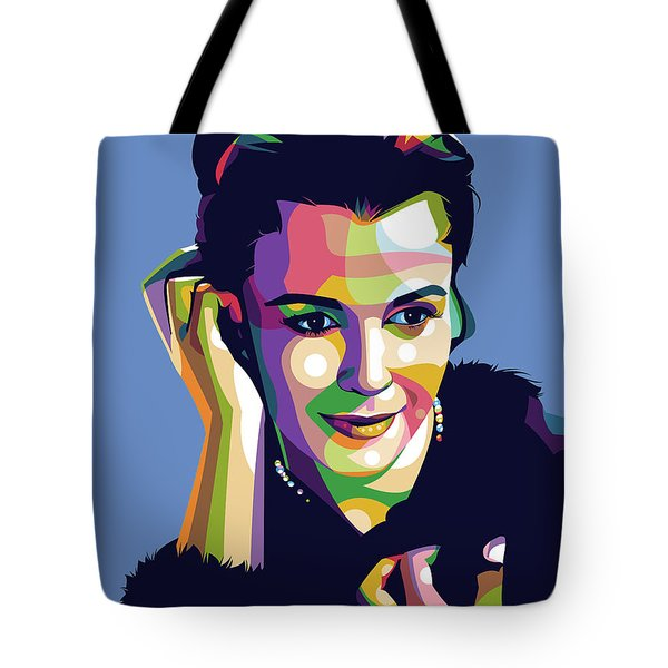 Claire Bloom Tote Bag