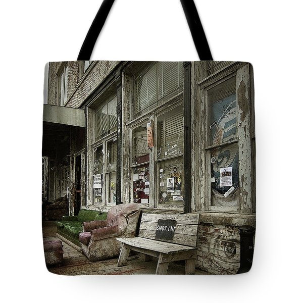 Tote Bag featuring the photograph Clarksdale by Jim Mathis