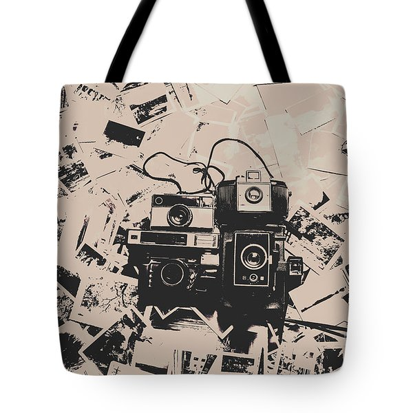 Classic Cameras And Captures Tote Bag