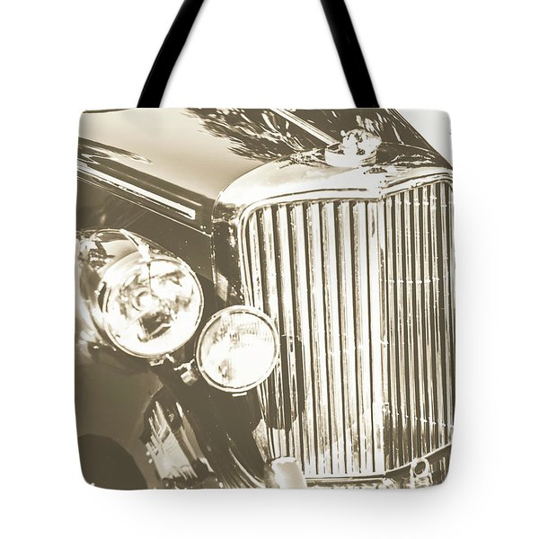 Classic Car Chrome Tote Bag