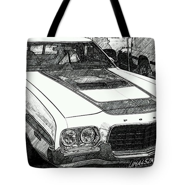 Classic Ford Sketch Tote Bag