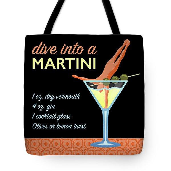Classic Martini Tote Bag