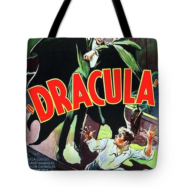 Classic Movie Poster - Dracula Tote Bag