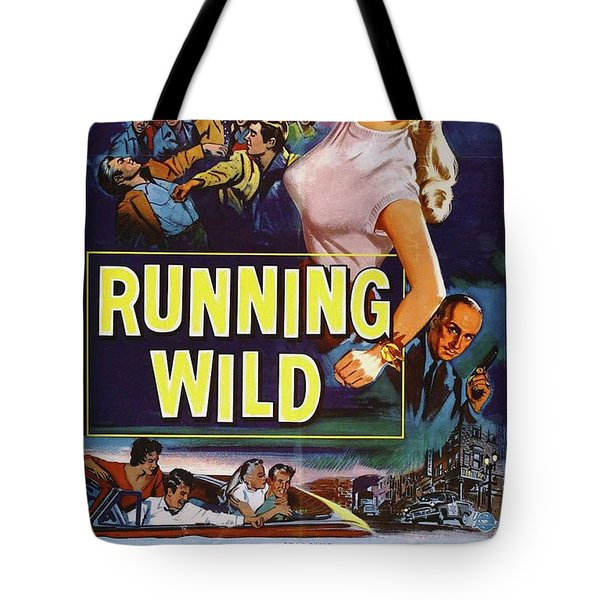 Classic Movie Poster - Running Wild Tote Bag