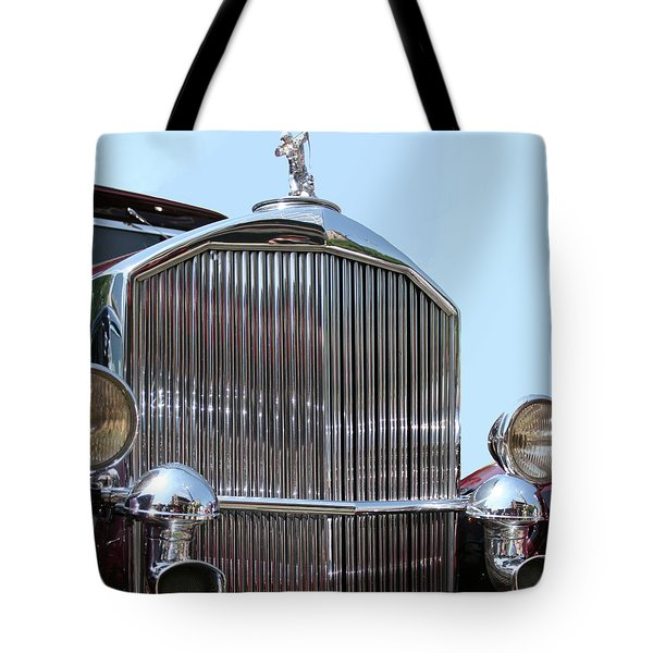 Classic Pierce Arrow Automobile Tote Bag