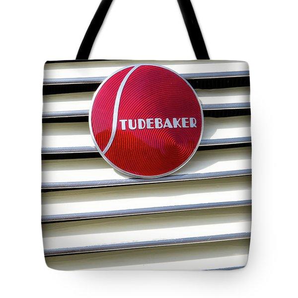 Classic Studebaker Logo Tote Bag