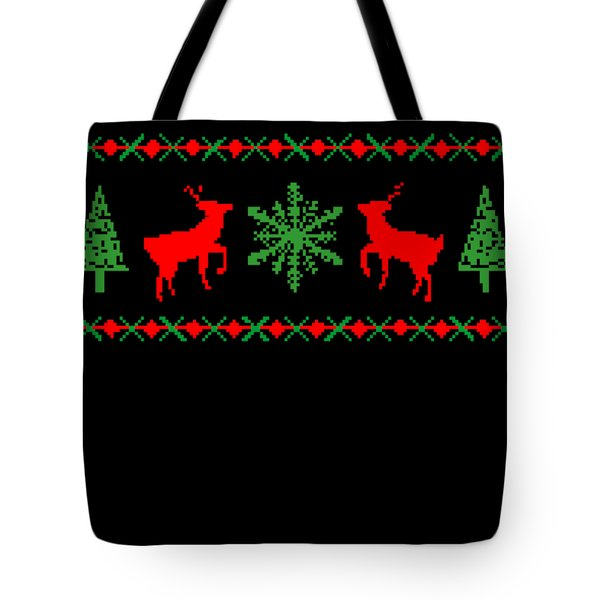 Classic Ugly Christmas Sweater Tote Bag