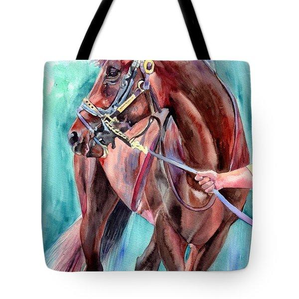 Classical Horse Portrait Tote Bag
