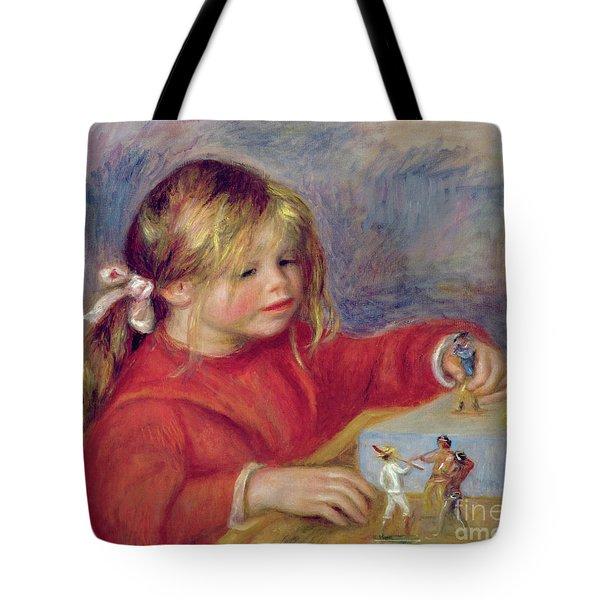 Claude Renoir At Play Tote Bag