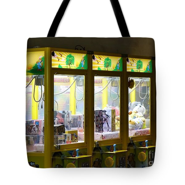 Claw Crane Game Machines In Taiwan Tote Bag