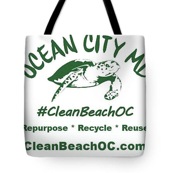 Tote Bag featuring the photograph Cleanbeachoc Poster by Robert Banach