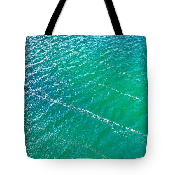 Clear Water Imagery  Tote Bag