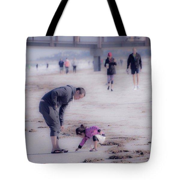 Clearwater Beachcombing Tote Bag