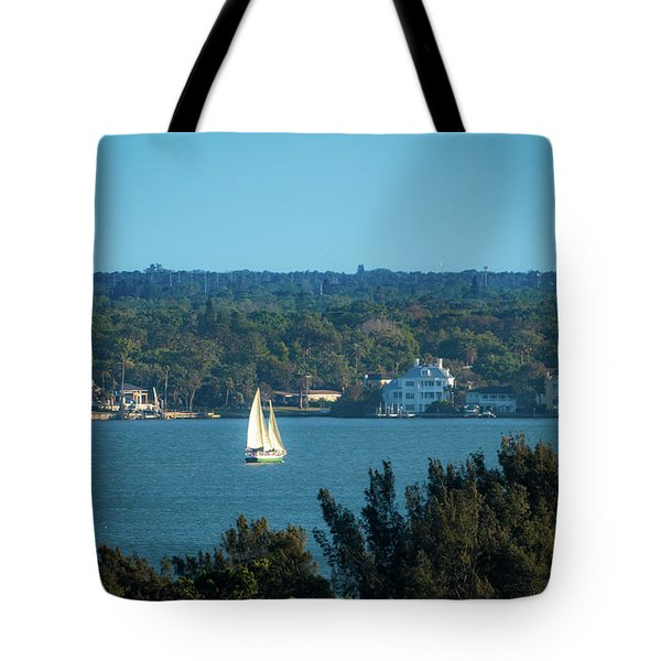 Clearwater Sails Tote Bag