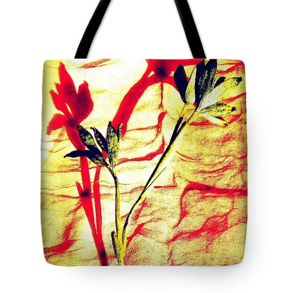 Clementine Sprig Contemporary Tote Bag