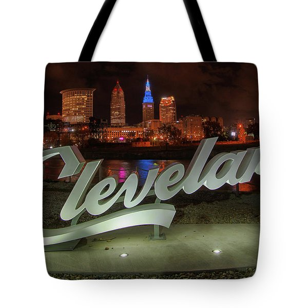 Cleveland Proud  Tote Bag