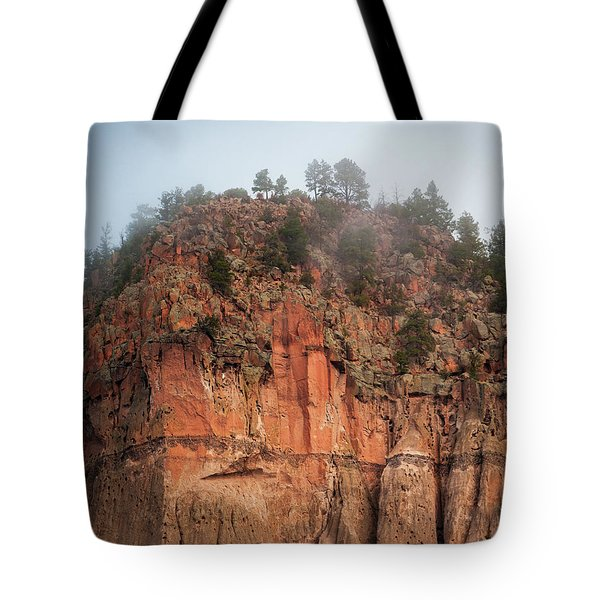 Cliff Face Hz Tote Bag