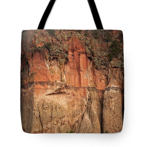 Cliff Face Tote Bag