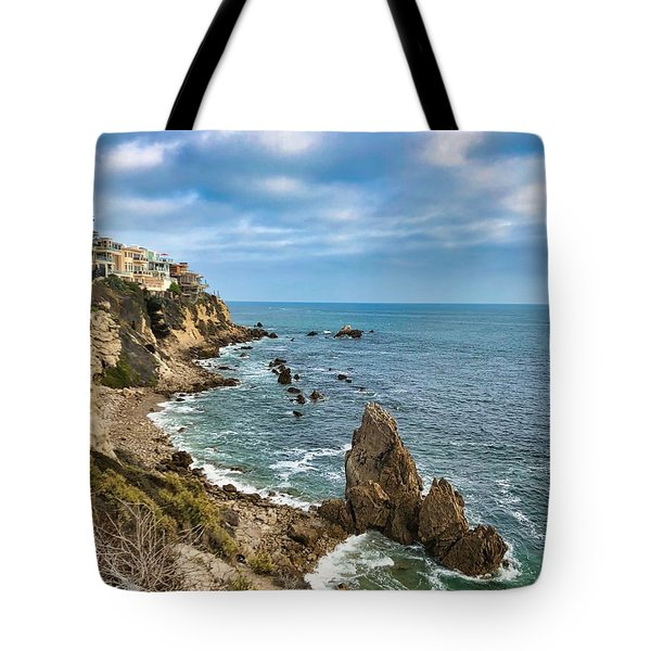 Cliffs Of Corona Del  Mar Tote Bag