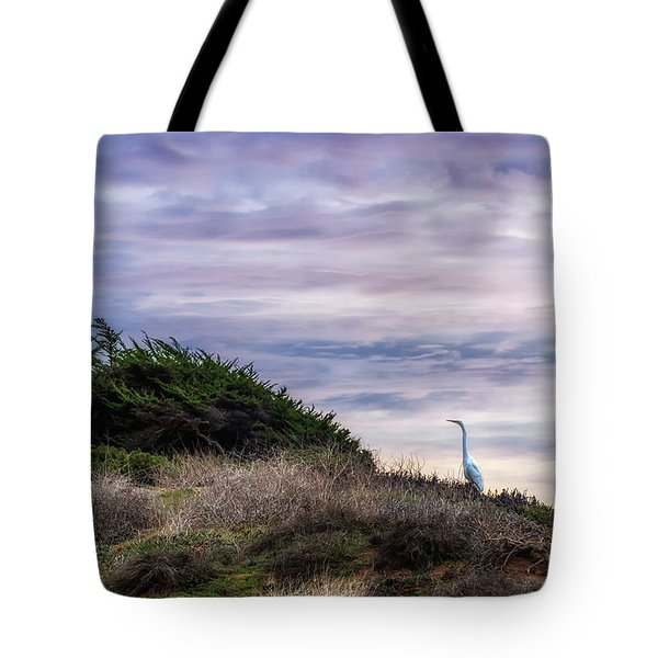 Cliffside Watcher Tote Bag