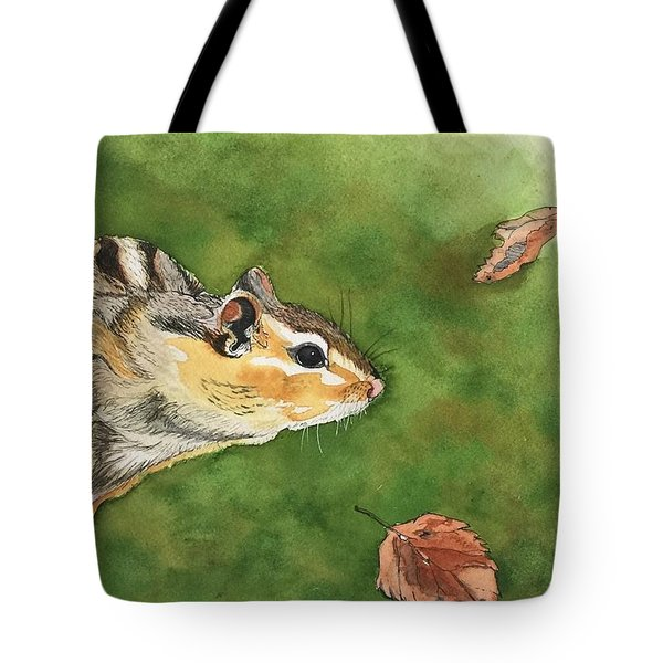 Clinging On To Fall Tote Bag