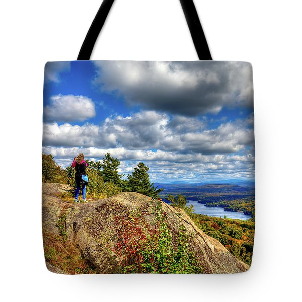 Tote Bag featuring the photograph Close To Heaven On Earth by David Patterson