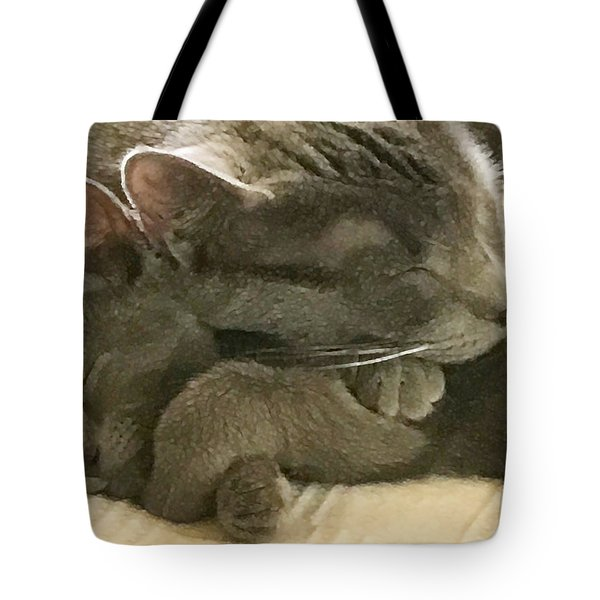 Cloud And Myst Tote Bag